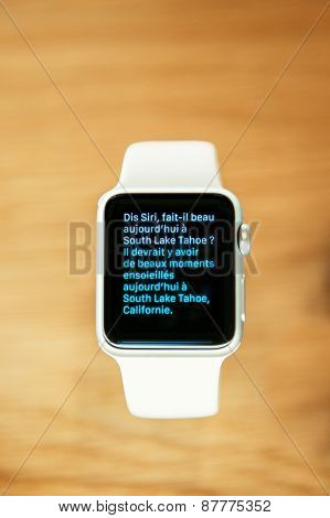 Apple Watch Close-up Details