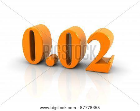 Number 0.02