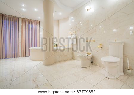 Greek Style Bathroom