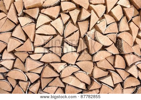 supply of firewood
