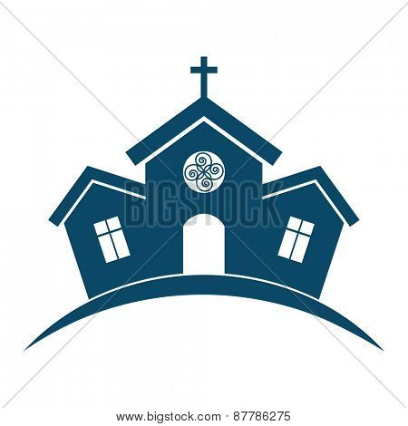 Church building design.
