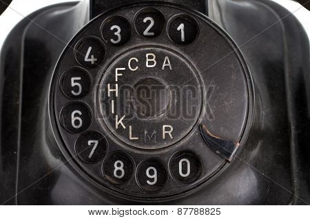 Old Retro Telephone