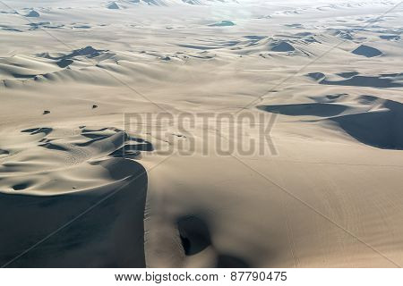 Sand Dunes And Dune Buggies