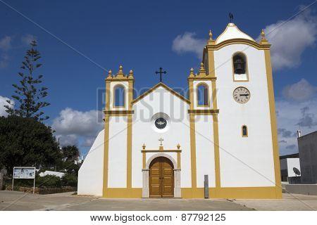 Church Of Nossa Senhora Da Luz, Praia Da Luz, Algarve, Portugal