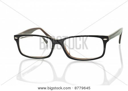 Modern Glasses With Reflection