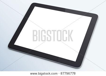 Blank Digital Tablet
