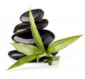 picture of zen  - Zen pebbles balance - JPG