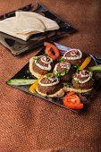 stock photo of meatballs  - Arab food - JPG