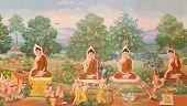 foto of mural  - Thai art - JPG