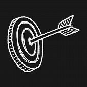 picture of archery  - Doodle Archery - JPG