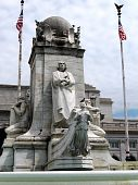 picture of amtrak  - The Columbus Memorial in Washington DC USA  - JPG