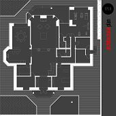 pic of drawing  - Architectural drawing house plan - JPG