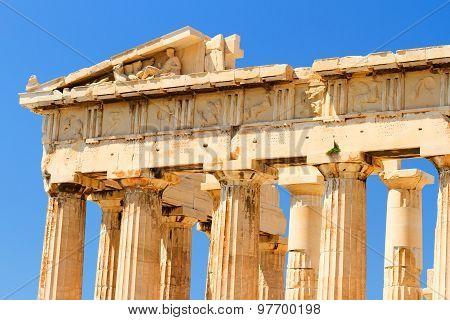 Parthenon At Acropolis, Athens