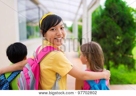 Vietnamese Schoolgirl