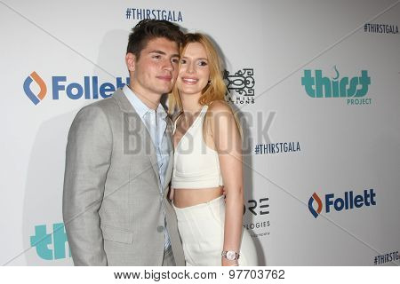 LOS ANGELES - JUN 30:  Gregg Sulkin, Bella Thorne at the 6th Annual Thirst Gala at the Beverly Hilton Hotel on June 30, 2015 in Beverly Hills, CA