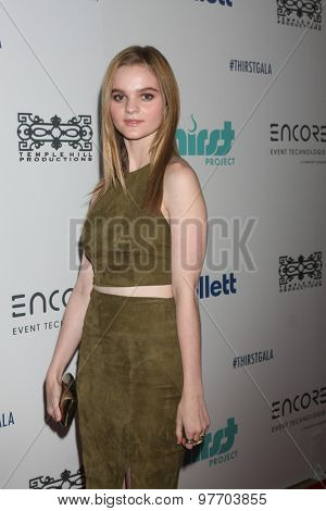 LOS ANGELES - JUN 30:  Kerris Dorsey at the 6th Annual Thirst Gala at the Beverly Hilton Hotel on June 30, 2015 in Beverly Hills, CA
