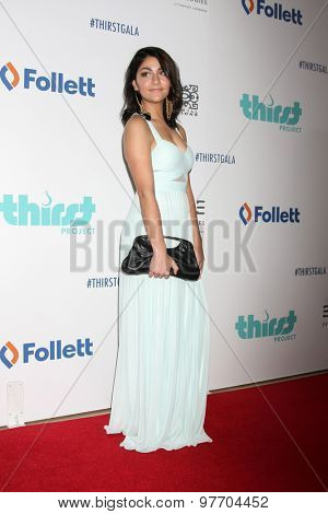 LOS ANGELES - JUN 30:  Andrea Russett at the 6th Annual Thirst Gala at the Beverly Hilton Hotel on June 30, 2015 in Beverly Hills, CA