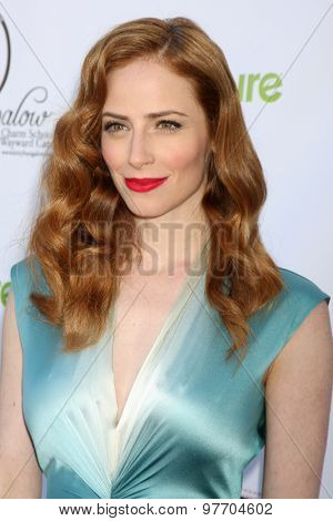 LOS ANGELES - AUG 1:  Jaime Ray Newman at the A CATbaret! - A Celebrity Musical Celebration of the Alluring Feline at the Avalon on August 1, 2015 in Los Angeles, CA