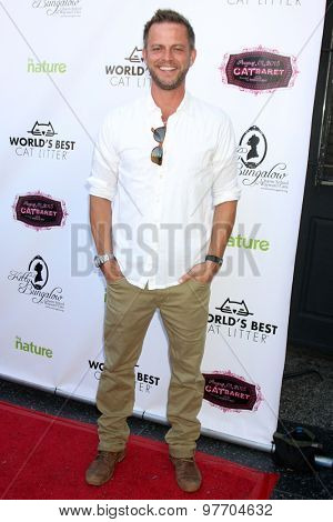 LOS ANGELES - AUG 1:  Carmine Giovinazzo at the A CATbaret! - A Celebrity Musical Celebration of the Alluring Feline at the Avalon on August 1, 2015 in Los Angeles, CA