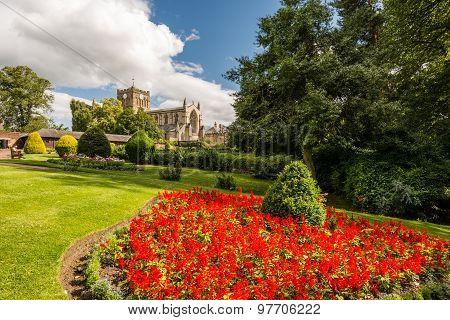 Flowerbed In Hexham