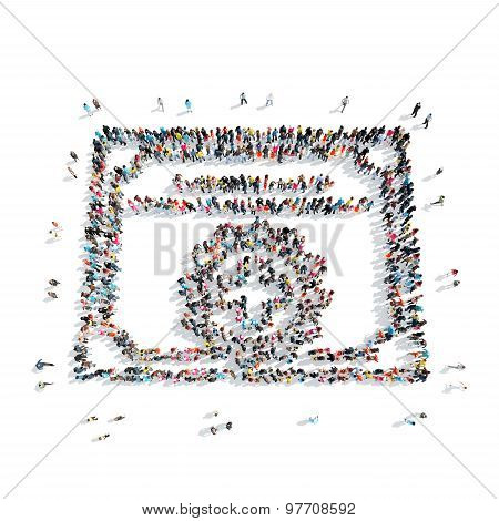 people in the shape of a certificate, medicine