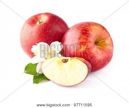Apple with jasmine flowers