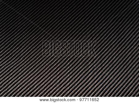 Woven Carbon Fiber Sheet. Texture.