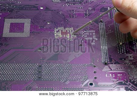 System Board Soldering Small Soldering Iron