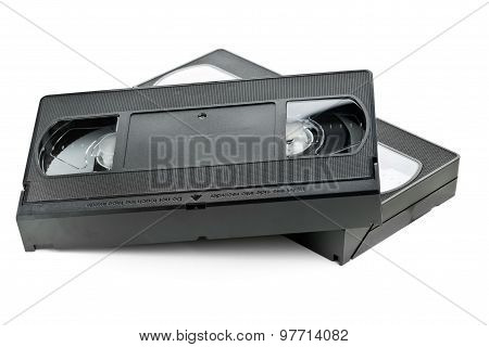 Two Video Home System Movie Cassettes
