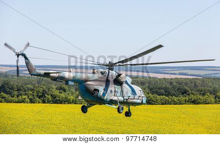 Helicopter Mi-8 (hip)