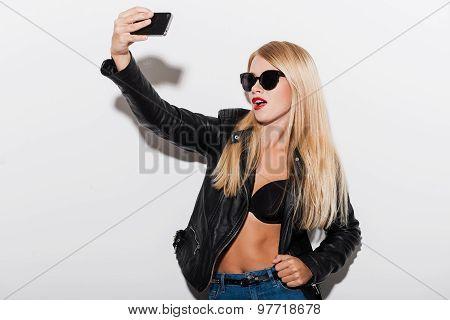 Cheeky Selfie.