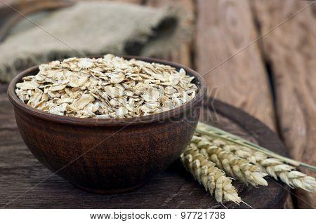 Full A Bowl Of Oatmeal
