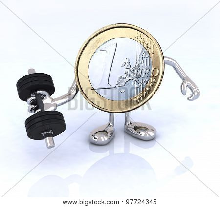 Euro Coin Is That Weight Training