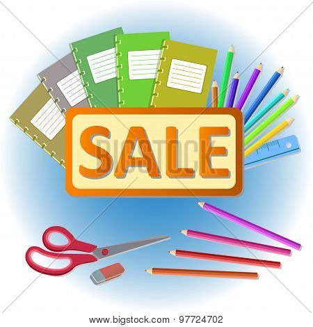 school stationery sale
