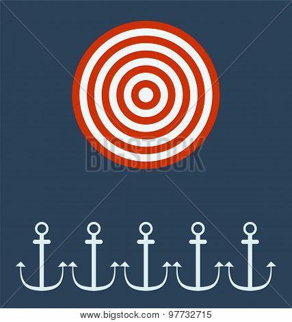 Anchor Ship. Target Concept.