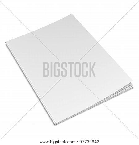 Empty White Book