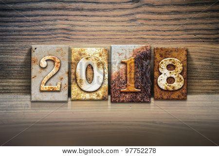 2018 Concept Letterpress Theme