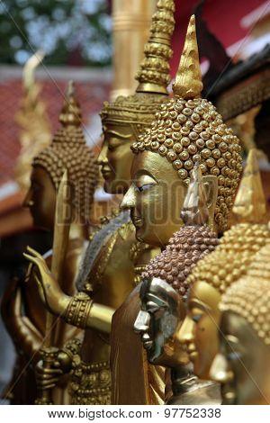 Asia Thailand Chiang Wat Doi Suthep
