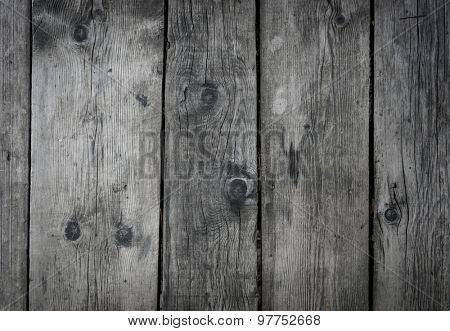 black wall wood texture background.