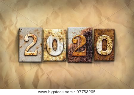 2020 Concept Rusted Metal Type