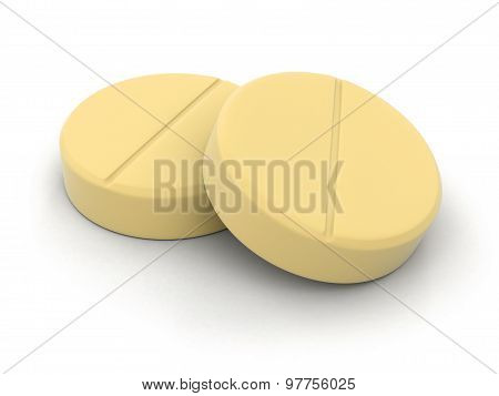 Tablets (clipping path included)