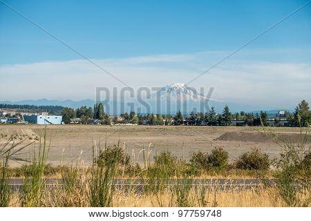 Mount Rainier From Tacoma 2
