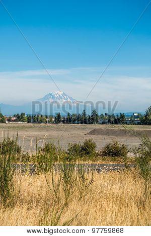 Mount Rainier From Tacoma 3