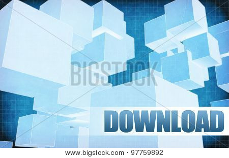 Download on Futuristic Abstract for Presentation Slide