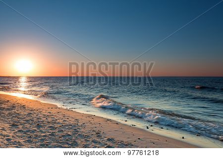 Sunset On The Baltic Sea