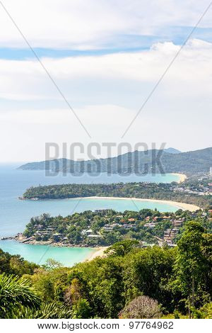 Hat Kata Karon Viewpoint In Phuket Island