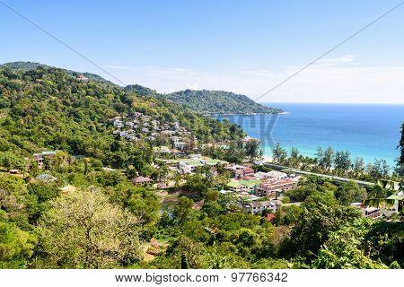 High View Resorts On Mountain In Phuket Island