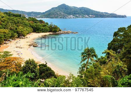 Beach Of Laem Sing Cape In Phuket Island