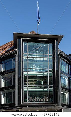 Jelmoli Building Facade