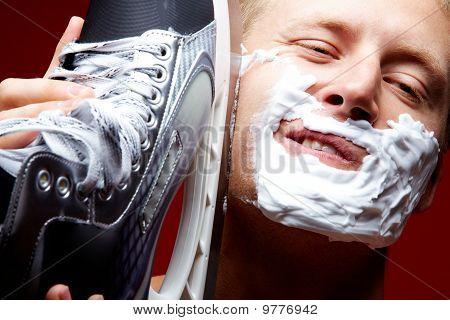 Shaving By Skate